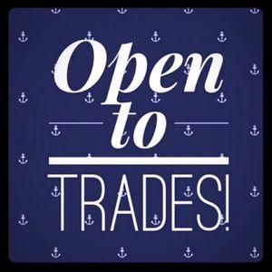 ISO trade 4 tops/makeup/shoes/bras-more info below